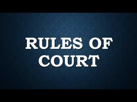 Civil Procedure Rule 1-10