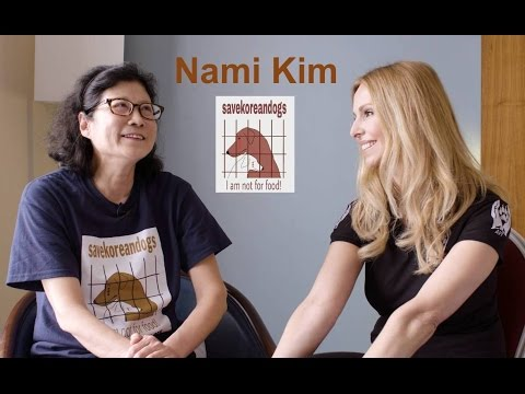 NAMI KIM - THE LADY WHO SAVES MEAT TRADE DOGS IN KOREA