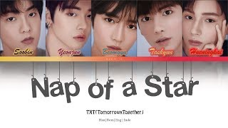 (Indo/Eng SUB) TXT - Nap of a Star (별의 낮잠) Color Coded Lyrics Han/Rom/Eng/Indo