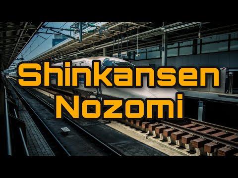 Viajando de Osaka a Tokio en el Shinkansen Nozomi (Tren Bala)