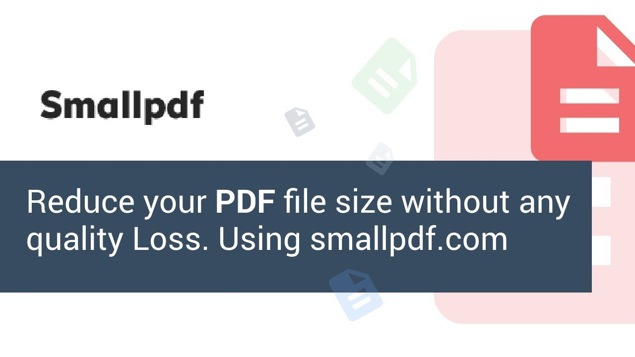 Smallpdf simple and easy way how to reduce pdf file size youtube smallpdf simple and easy way how to reduce pdf file size stopboris Image collections