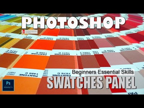The Swatches Panel: Photoshop Beginners Essential Skills
