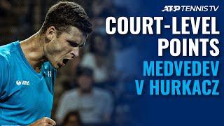 Daniil Medvedev vs Hubert Hurkacz: Court-Level Highlights! | Toronto 2021
