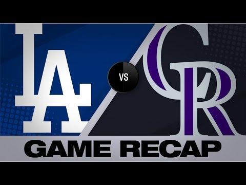 Arenado leads Rockies to 13-9 win | Dodgers-Rockies Game Highlights 6/28/19