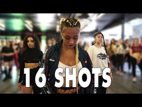 Stefflon Don | 16 Shots | Street Dance| Choreography Sabrina