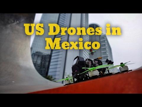 TRUMP SENT DRONES TO MEXICO!