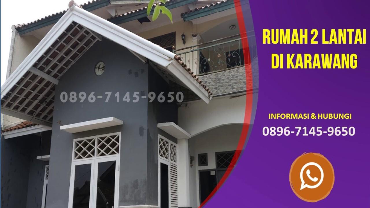 Hub 0896-7145-9650 Jual Rumah Di Karawang Timur - YouTube