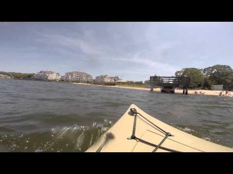 Kayak Manasquan River Ocean County NJ - Riverfront Park Point Pleasant