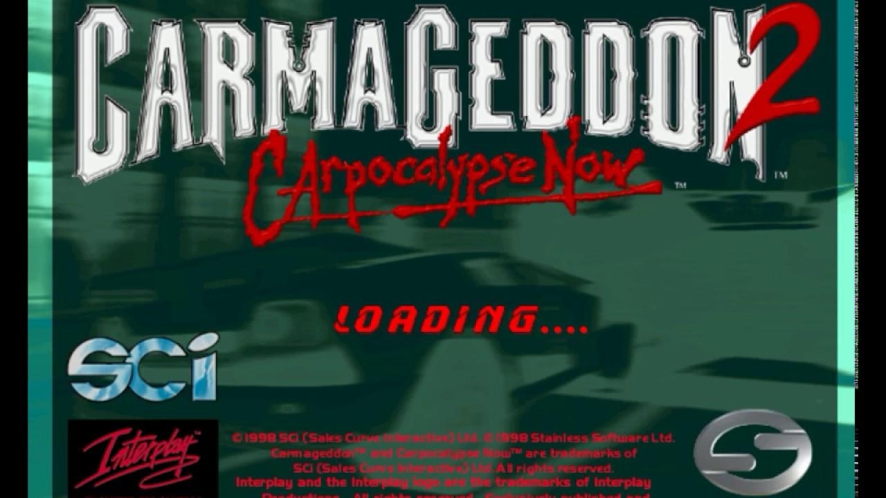 Carmageddon 2 - PCem v11 - Voodoo - Gameplay