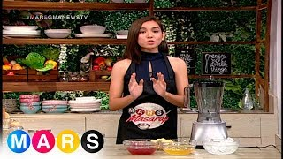 Mars:​ Mangosteen Passion Fruit Smoothie by Kyline Alcantara | ​Mars Masarap​