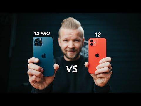 iPhone 12 VS 12 Pro // Camera Comparison Review