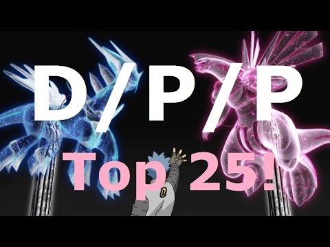 Top 25 Themes of Pokemon D/P/P: Diamond, Pearl & Platinum