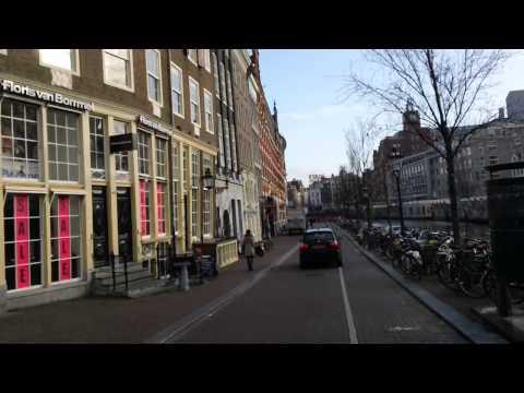 Biking around Amsterdam's Canals