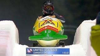 Meyers and Lolo Jones settle for 10th in Bobsled - Universal Sports