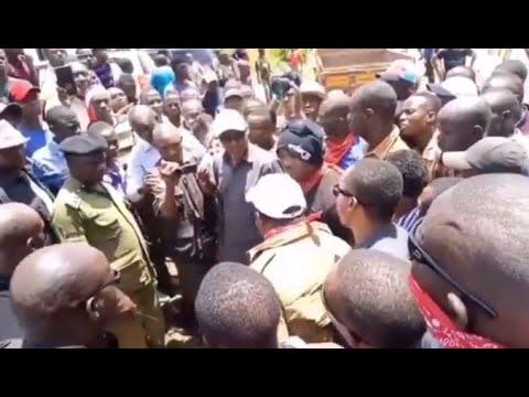 Download TAZAMA LAIVU: TUNDU LISSU AKIBISHANA VIKALI NA POLISI/MABOMU YA MACHOZI YAPIGWA/POLISI WAFUNGUKA
