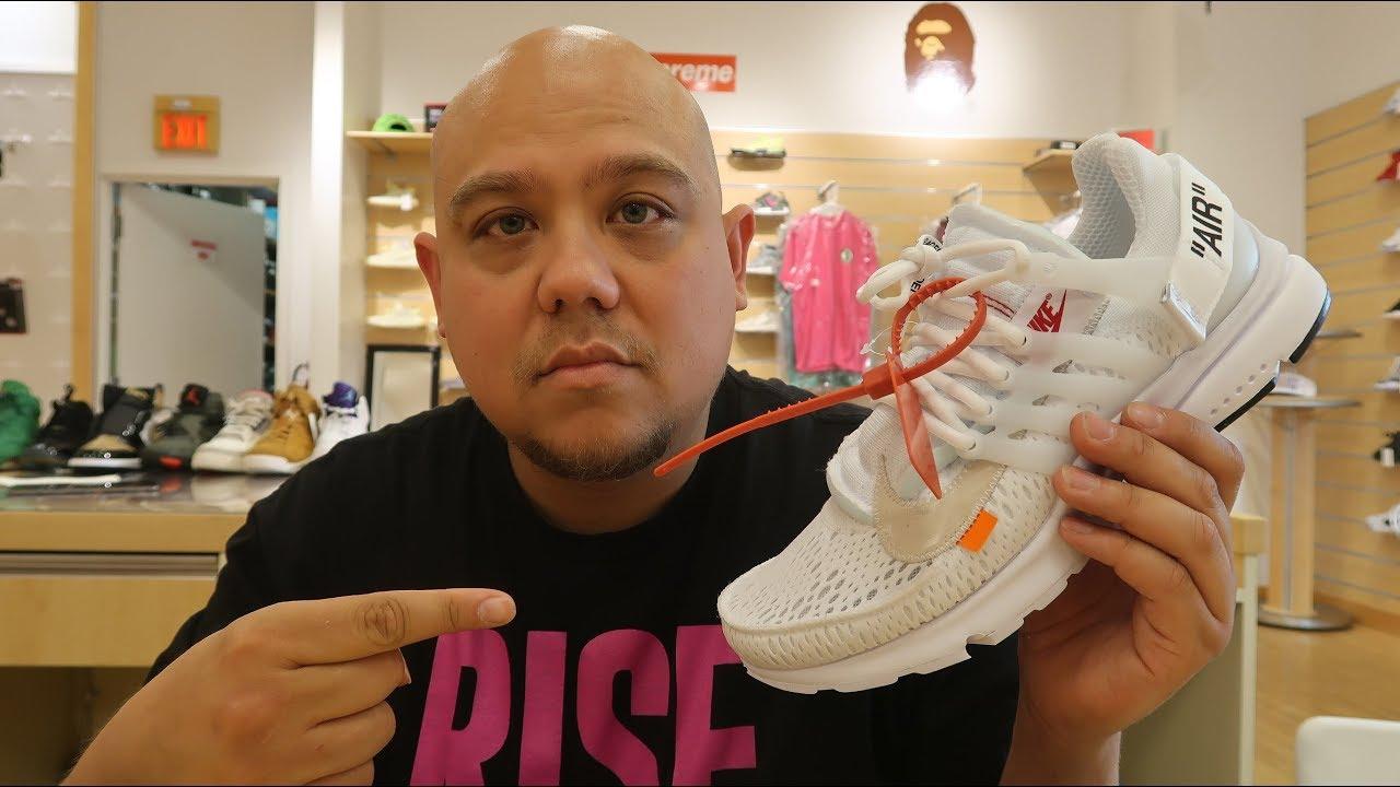 817e982fc5d Off White Nike Air Presto Sneaker Review With Dj Delz - YouTube