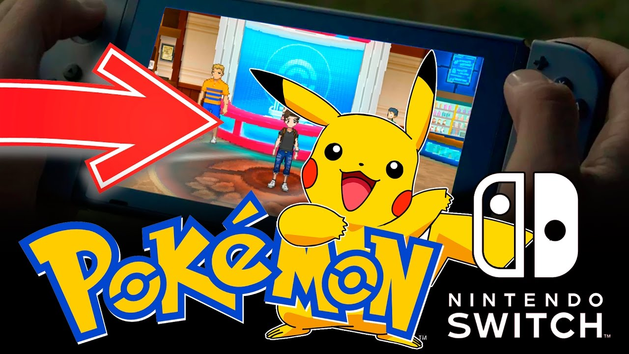 Juego De Pokemon En 2017 Para Nintendo Switch Rumor Pokemon