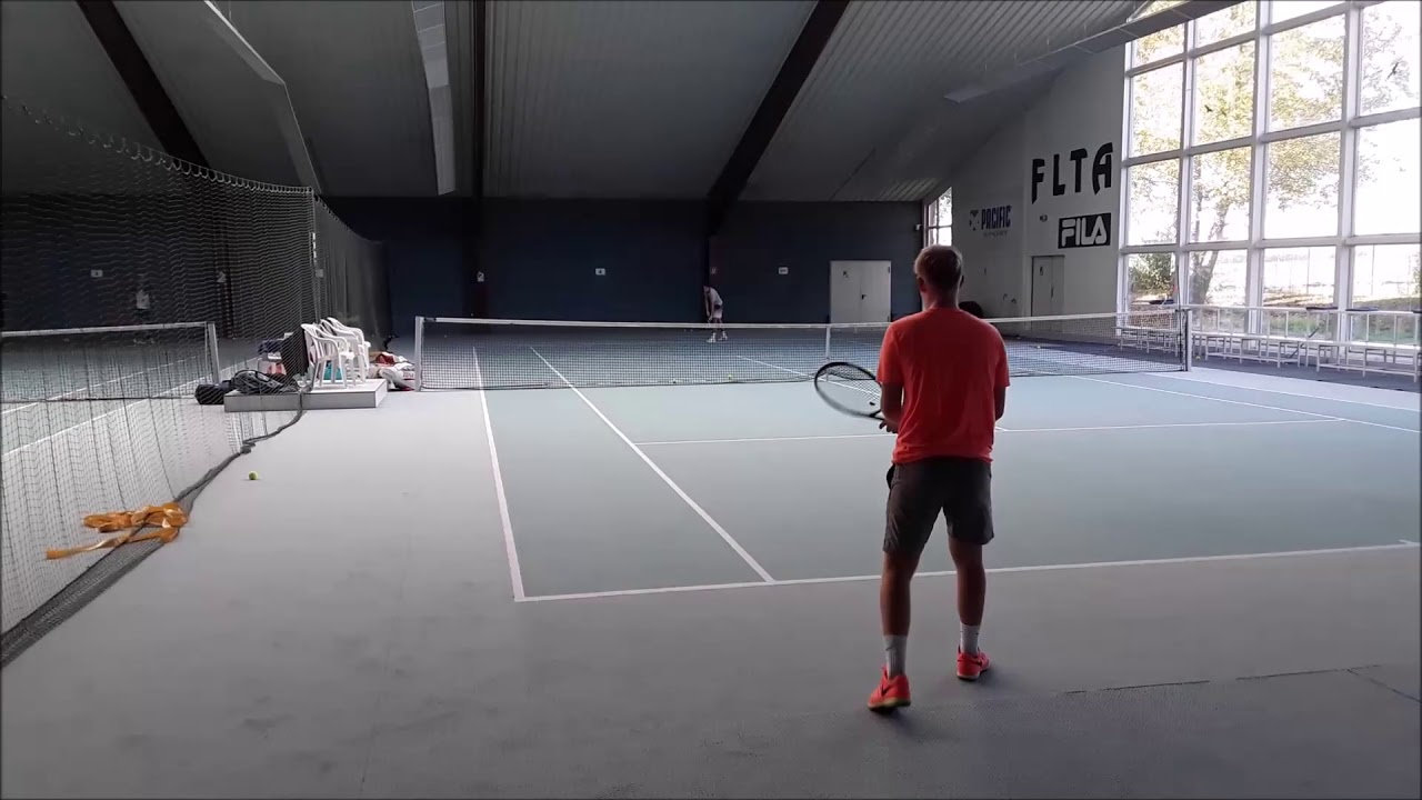 Tennis Drills - Singles Tactics Training - Serve & Return