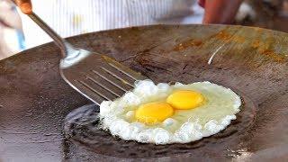 Delicious Egg Garlic Half Fry - Quick Egg Recipes | How To Make | Egg Street Food India