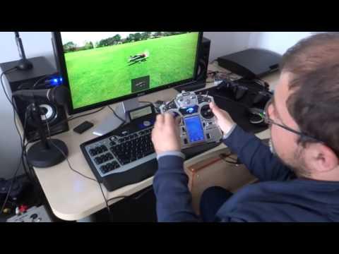 Turnigy Tgy i10 on Phoenix Simulator