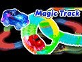 Magic Track Starter Set and Car Tricks (Neon Glow race track and light up cars)
