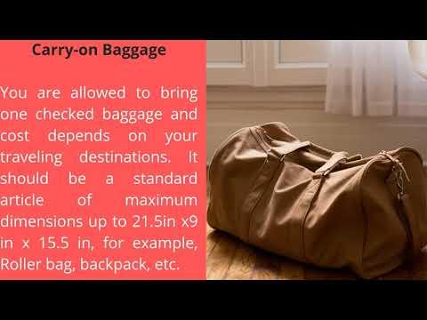 Air Canada Baggage Policy |  Baggage Allowance & Fees 2020