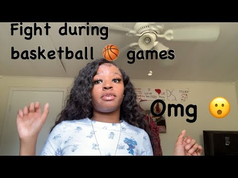 storytime: fight during basketball game🏀