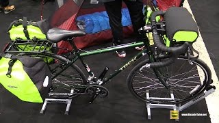 2016 Trek 520 Touring Bike - Walkaround - 2016 Salon Velo Montreal