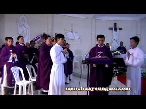 Lễ Viếng Đức Cha Tôma Nguyễn Văn Tân Gp Vĩnh Long