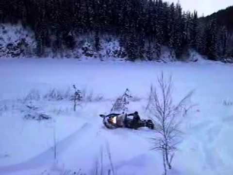 Jumps On Ski Doo Skandic Suv Youtube