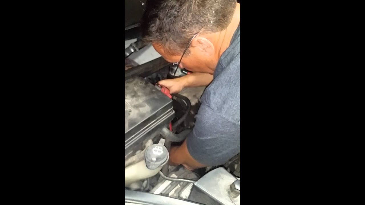 Serpentine Belt Tool And Not The Normal Youtube 2003 Saturn Ion