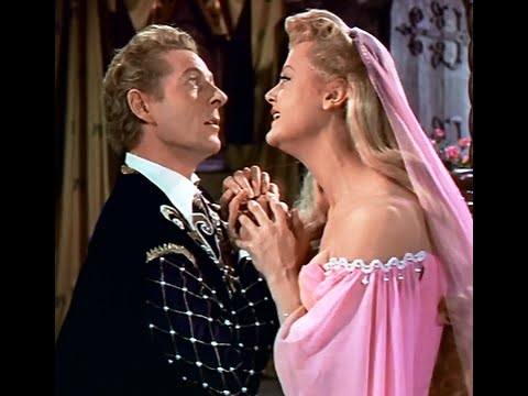 The Court Jester (1955) - A hypnotized Danny Kaye romances Angela Lansbury