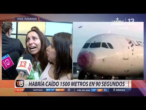 Pasajeros relatan momento de terror en avión de Latam que atravesó tormenta