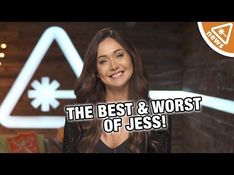 The Best Worst of Jessica Chobot in 2016! (Nerdist News w/ Jessica Chobot)