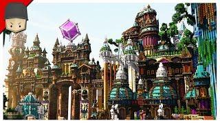 Minecraft Fantasy City