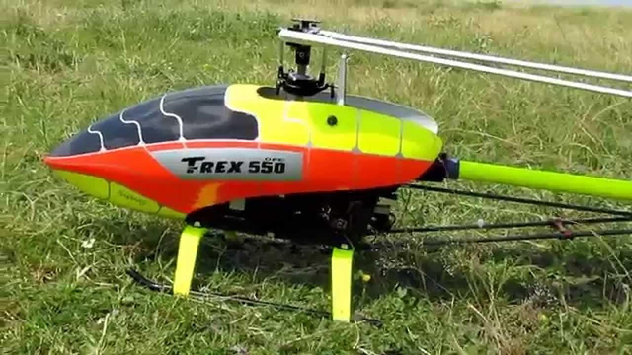 Trex 550 Dfc Kuyruk Borusu Fosfor Sarı Boyama Youtube