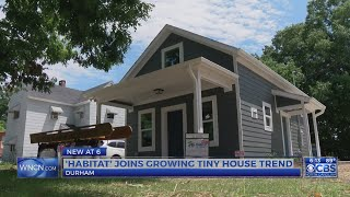 With One Already Up, Habitat For Humanity Wants To Build More Tiny Houses In Durham