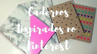 DIY VOLTA ÀS AULAS: CADERNOS ESTILO PINTEREST + SORTEIO!