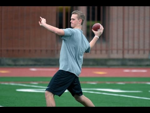 USC Summer Workouts - Max Browne in 7-on-7 4/24/13