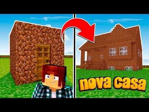 Minecraft Origem #12 - A CASA NOVA  !!