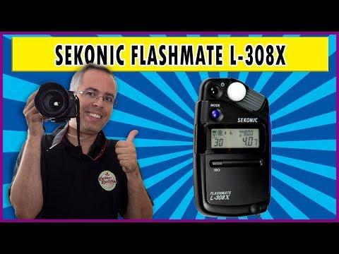 Sekonic Flashmate L-308X | fotômetro e flash meter | Review em português