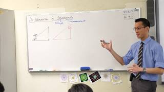 Right-Angled Triangle Trigonometry (1 of 2: Reviewing the ratios)