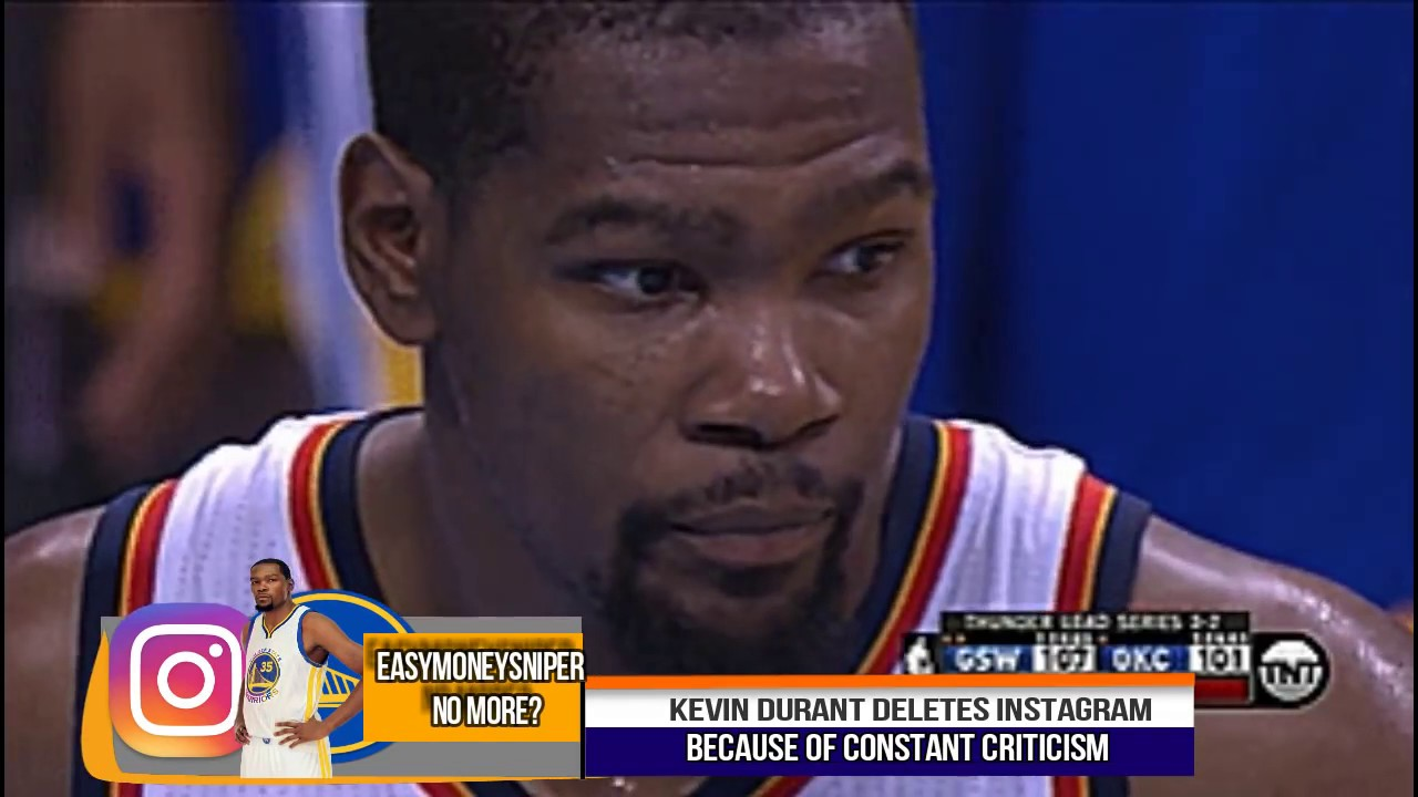 Kevin Durant Quote Kevin The Bandwagon Durant Deletes Instagram Thoughts On His