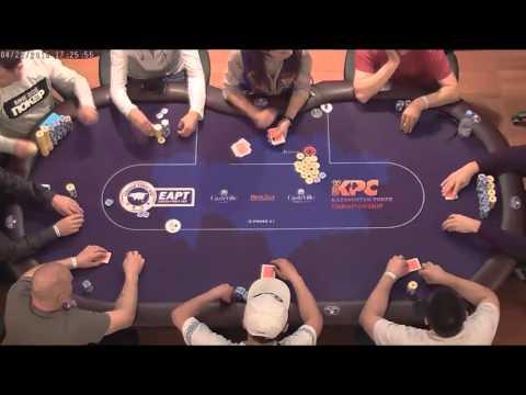 Финальный стол Astana Poker Cup. EAPT CashVille Боровое, апрель 2016