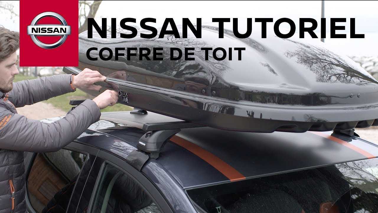 tutoriel coffre de toit nissan micra youtube. Black Bedroom Furniture Sets. Home Design Ideas