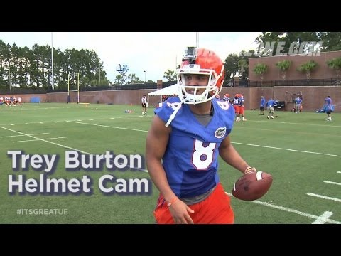 Florida Football: Trey Burton Helmet Cam