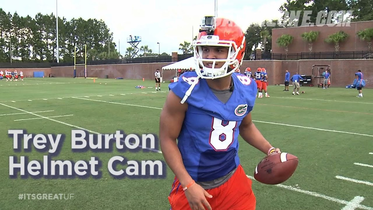 Florida Football: Trey Burton Helmet Cam - YouTube
