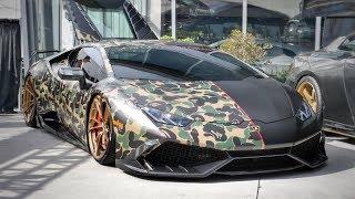 1,000bhp Twin-Turbo Lamborghini | Back In LA