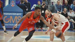CSKA - Olympiacos. Report / ЦСКА — «Олимпиакос». Репортаж