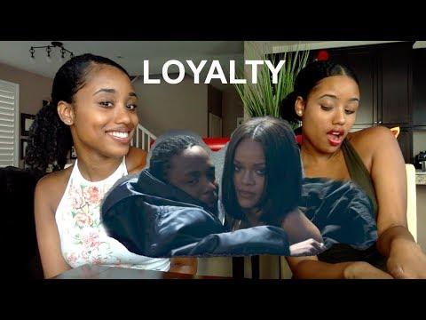 Kendrick Lamar LOYALTY ft Rihanna REACTION